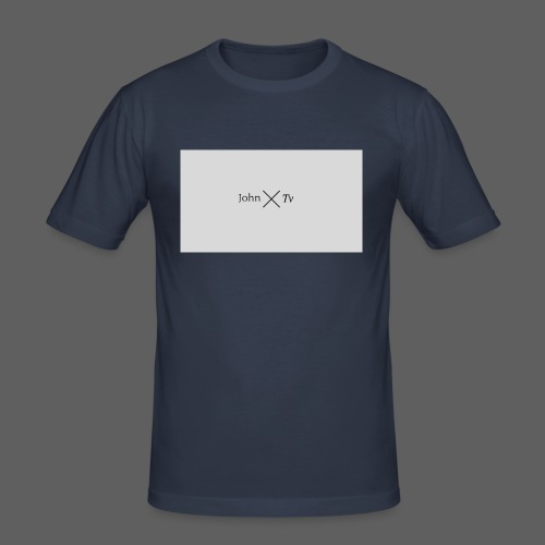 john tv - Men's Slim Fit T-Shirt