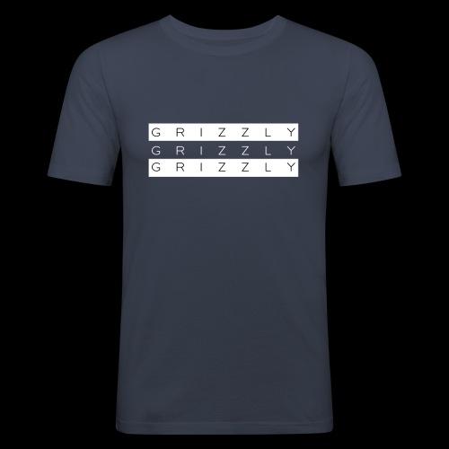 Grizzly X - Camiseta ajustada hombre