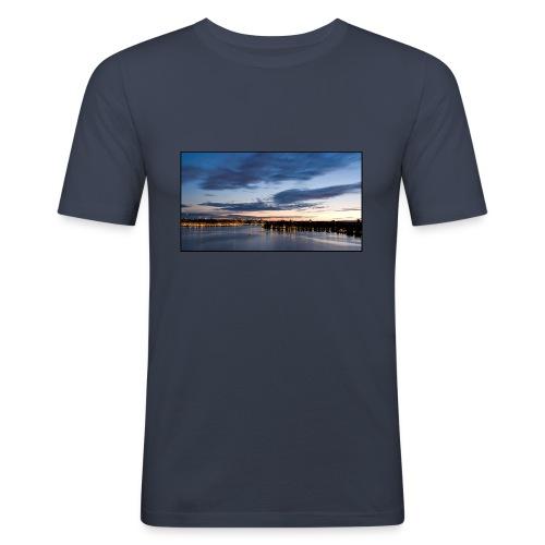 Sommarnatt1 - Slim Fit T-shirt herr
