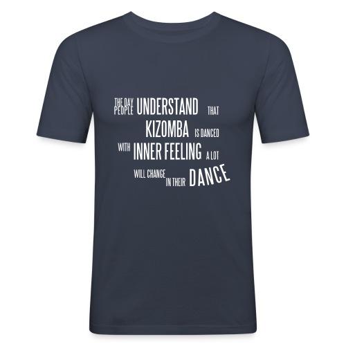 understandkizomba4 - Männer Slim Fit T-Shirt
