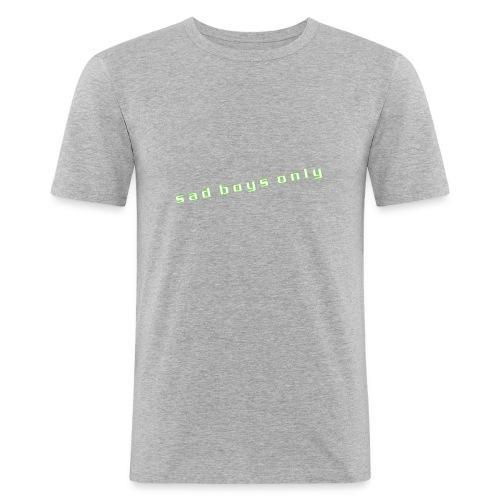 only_sad - Men's Slim Fit T-Shirt