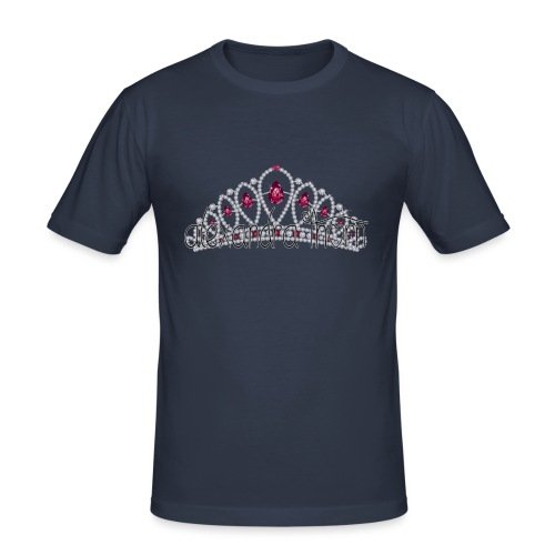 crown shirt - Mannen slim fit T-shirt