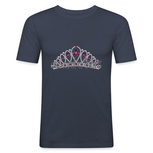 crown shirt - Mannen slim fit T-shirt