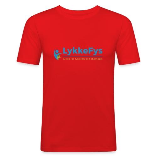 Lykkefys Esbjerg - Herre Slim Fit T-Shirt