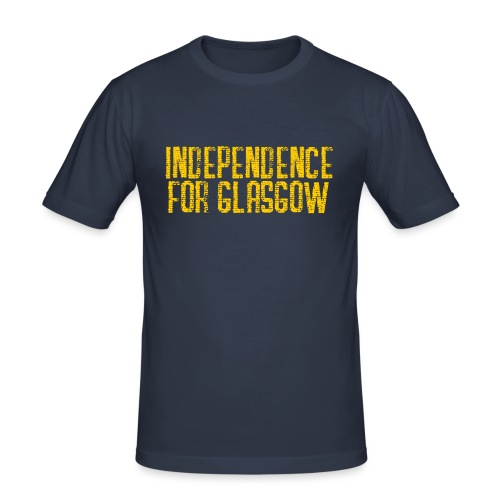 Independence for Glasgow - Men's Slim Fit T-Shirt