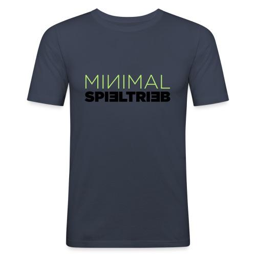 minimal spieltrieb - Männer Slim Fit T-Shirt