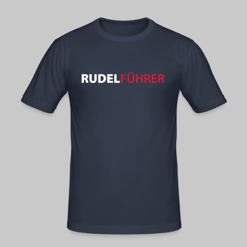 Rudelführer Hunde - Männer Slim Fit T-Shirt