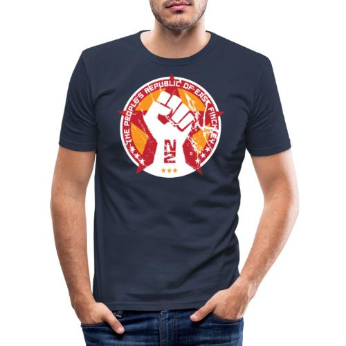 The people's republic of East Finchley - Men's Slim Fit T-Shirt