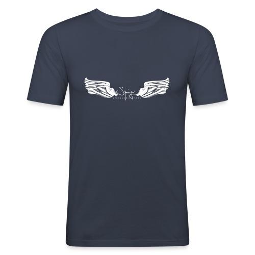 Seraph Wings white - T-shirt près du corps Homme