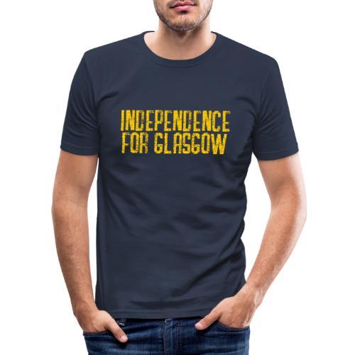 Independence for Glasgow - Men's Slim Fit T-Shirt
