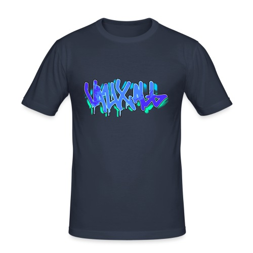 Graffiti | BLUE - Men's Slim Fit T-Shirt
