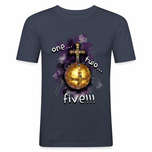 holy hand grenade of antioch - Camiseta ajustada hombre