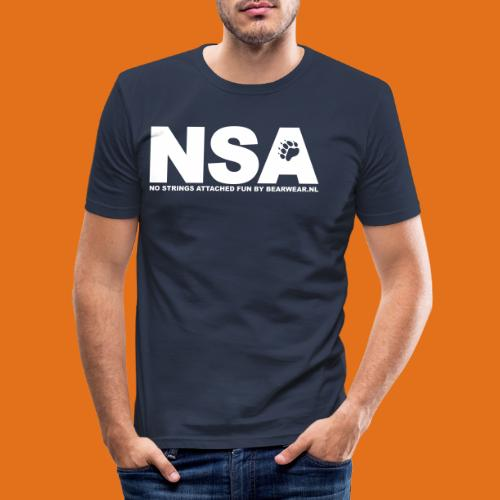 nsa new - Men's Slim Fit T-Shirt