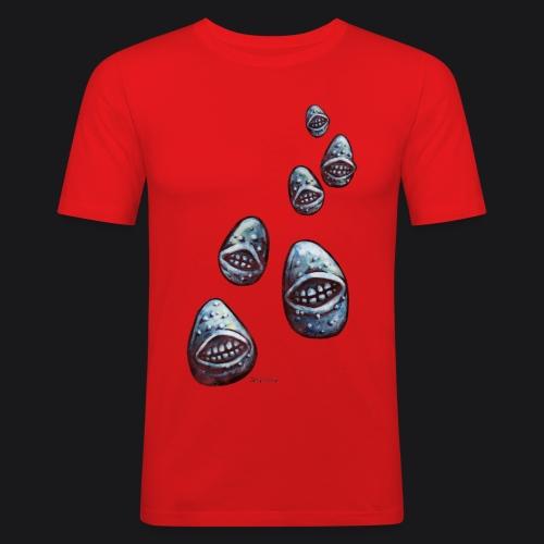 potatoes attack - T-shirt près du corps Homme
