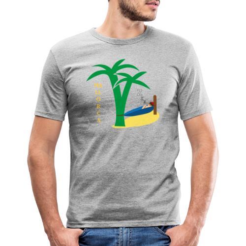 Mallorca - Urlaub unter Palmen - Männer Slim Fit T-Shirt