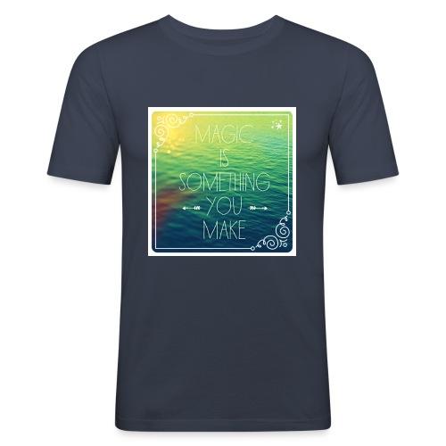 MAGIC - Mannen slim fit T-shirt