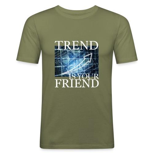 Designed T-Shirt for Traders Stock Market Forex - Maglietta aderente da uomo