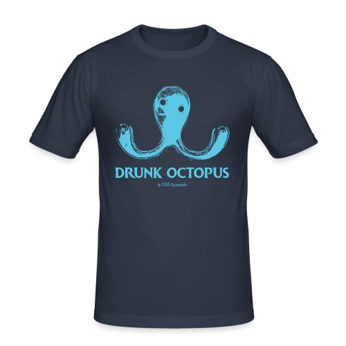 Drunk Octopus - Men's Slim Fit T-Shirt