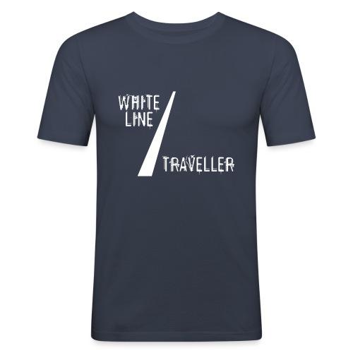 white line traveller - slim fit T-shirt