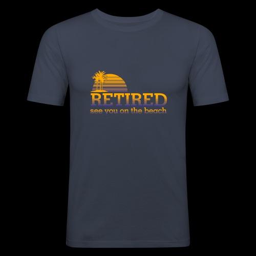 Retraite - T-shirt près du corps Homme