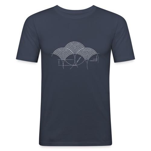 European Fan White - slim fit T-shirt
