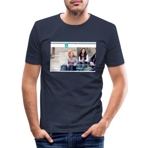 user2 - Men's Slim Fit T-Shirt