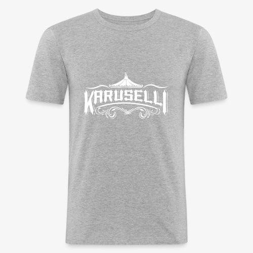 Karuselli - Miesten tyköistuva t-paita