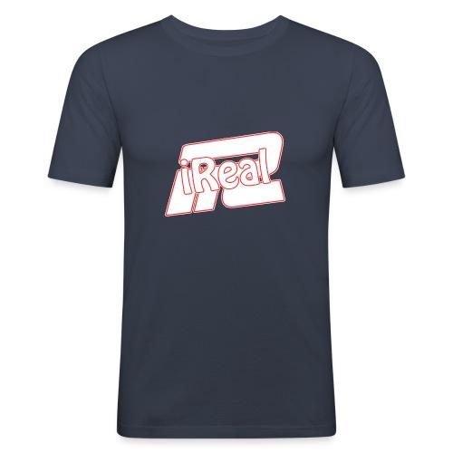 irealsiiiii png - T-shirt près du corps Homme