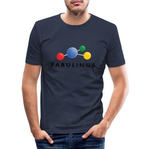 Fabulinus Zwart - slim fit T-shirt