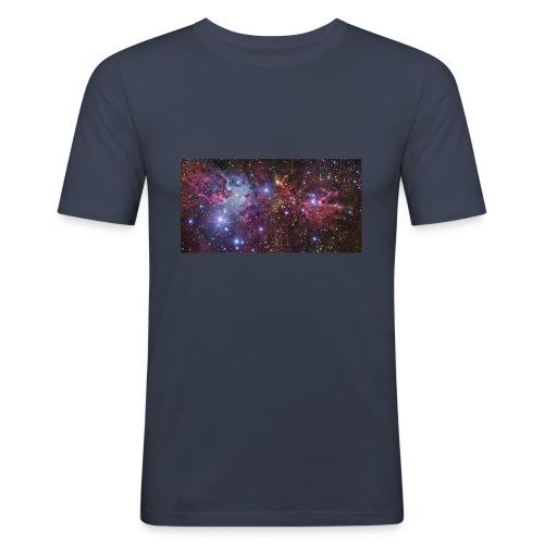 Stjernerummet Mullepose - Herre Slim Fit T-Shirt