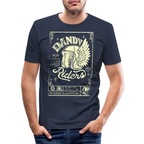 DANDY RIDERS - Maglietta aderente da uomo