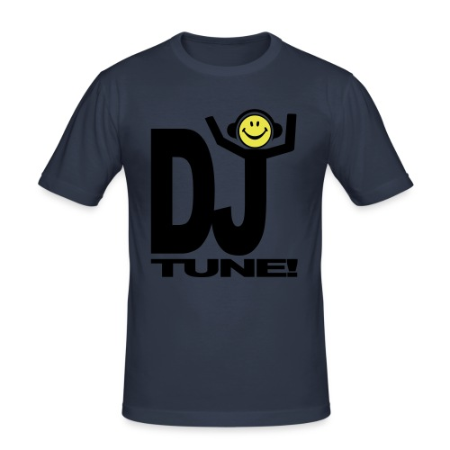 DJ Face Tune - Men's Slim Fit T-Shirt