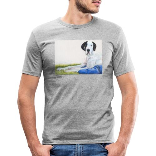 Grand danios harlequin - Herre Slim Fit T-Shirt