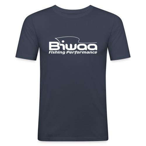 logo biwaa noir sans fond - T-shirt près du corps Homme