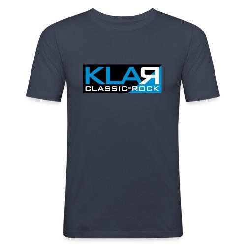 KLAR-Logo clear - Männer Slim Fit T-Shirt