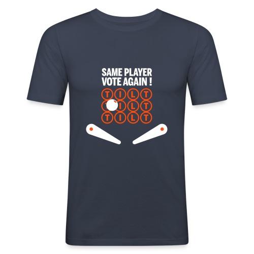 tiltsameplayer3coul - T-shirt près du corps Homme