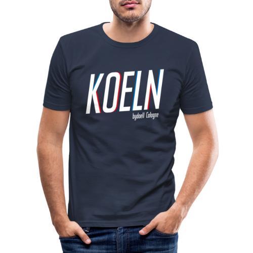 Koeln Basic - Männer Slim Fit T-Shirt