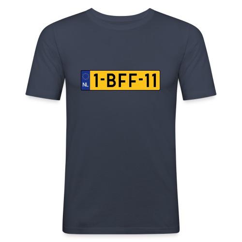 0019 - Mannen slim fit T-shirt
