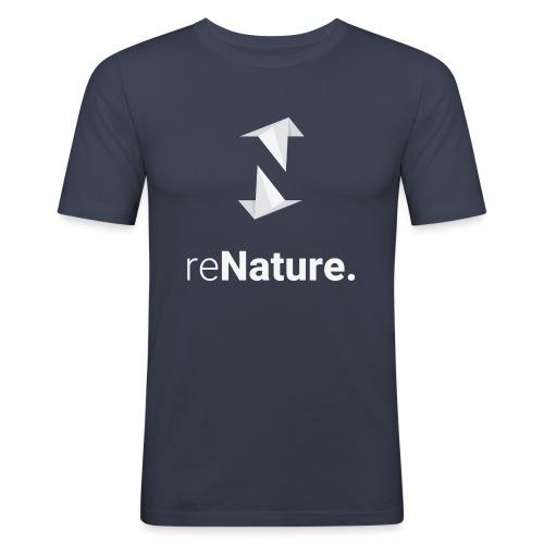 reNature T-Shirt - Mannen slim fit T-shirt