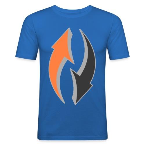 arrows (Saw) - Men's Slim Fit T-Shirt