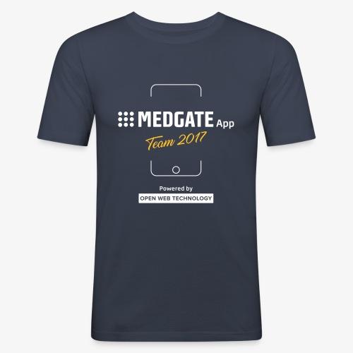 Medgate App Team 2017 Dark - Männer Slim Fit T-Shirt