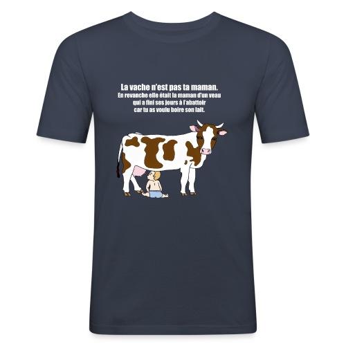 Vache à lait - T-shirt près du corps Homme