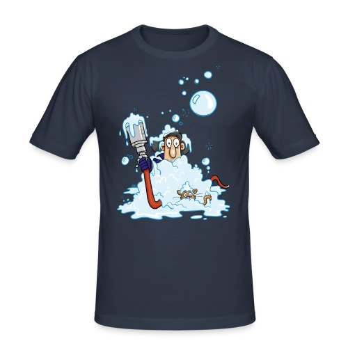 Schaumschläger - Männer Slim Fit T-Shirt