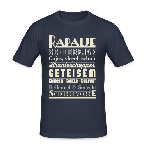 Rapalje - Mannen slim fit T-shirt