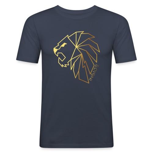 Löwe, Lion Inside - Männer Slim Fit T-Shirt