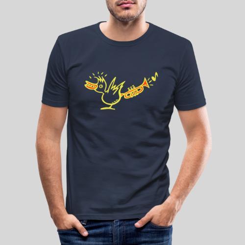 trompetenvogel - Männer Slim Fit T-Shirt