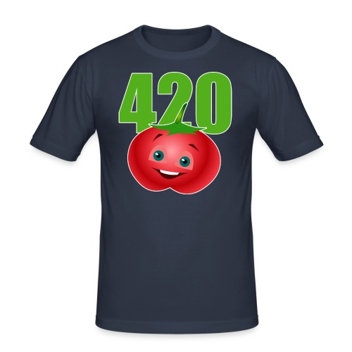 Tomate 420 - Männer Slim Fit T-Shirt