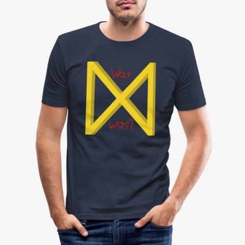 Rune Dagaz - Männer Slim Fit T-Shirt
