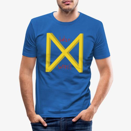 Rune Dagaz - Männer Slim Fit T-Shirt