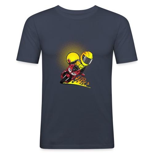 0791 fjr ROOD sun - slim fit T-shirt